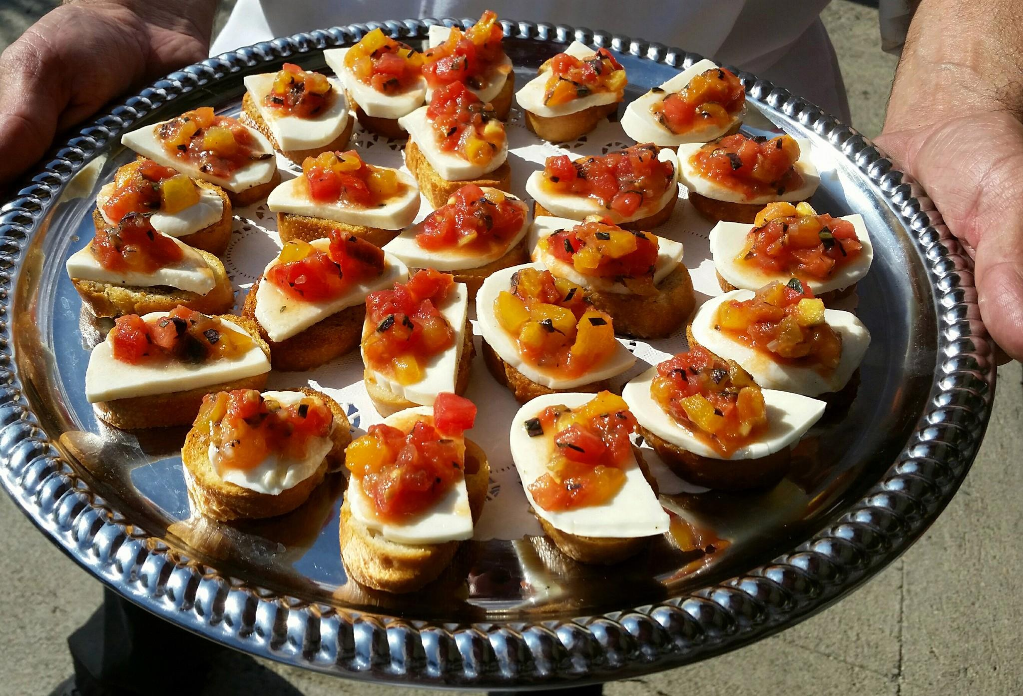 Bruschetta tray
